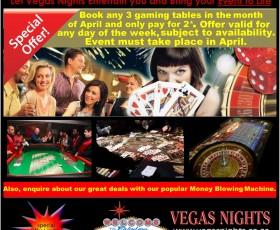 April Madness at Vegas Nights