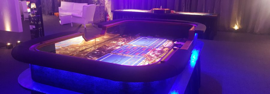LED Showcase Craps